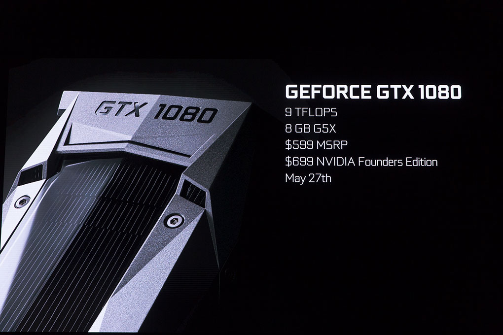 NVIDIA Reveals New GPU, GeForce GTX 1080.