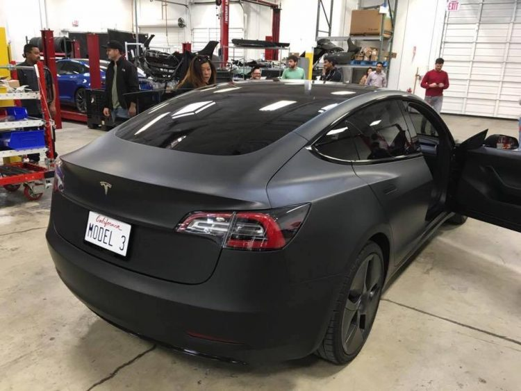 Latest Tesla Model 3 Images Leaked.
