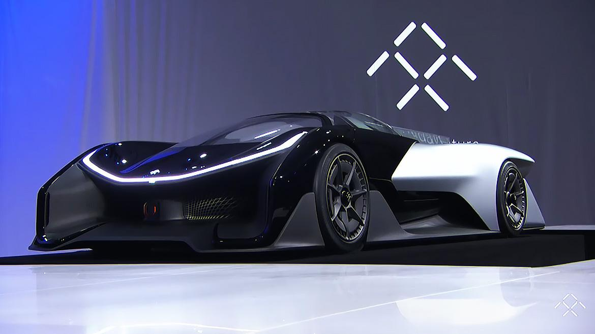 Faraday Future Unveils The FFZero1 Concept EV.