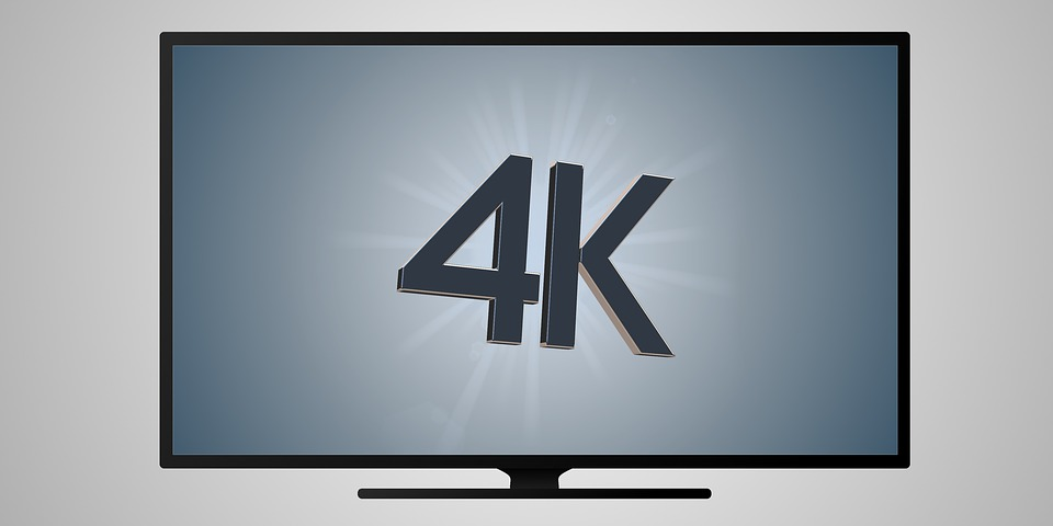 4K screen resolution